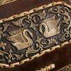 Хлебница «Лебеди», сложная, 28×22×15см, береста, микс по цене 3522₽ - Хлебницы и корзины для хлеба, фото 4