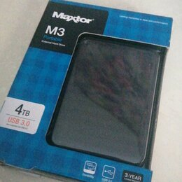 Внешние жесткие диски и SSD - MAXTOR M3 4TB USB 3.0, 0