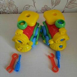 Развивающие игрушки - Паровозик Полесье разборный, 0