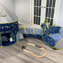 Игровые домики и палатки - Игровой комплекс (палатка + тоннель + манеж), 0