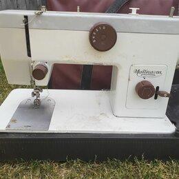 Швейные машины - Машинка швейная чайка 134 электрическая, 0