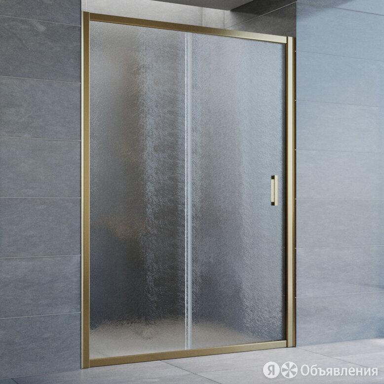 Душевая дверь в нишу Vegas Glass ZP 135 05 02 профиль бронза, стекло шиншилла по цене 32810₽ - Полки, шкафчики, этажерки, фото 0