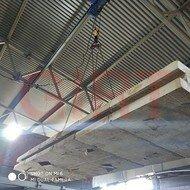 Строительные блоки - Материал огнеупорный замковый блок для стен и свода печей огнеупорный 1500/40..., 0