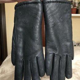 Перчатки и варежки - Перчатки кожаные женские зимние новые, 0
