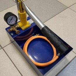 Насосы и комплектующие - Ручной гидравлический насос для испытания давления, 0