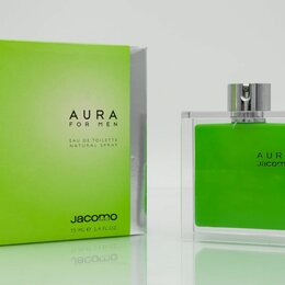 Парфюмерия - Aura For Men (Jacomo) туалетная вода (EDT) 75 мл, 0