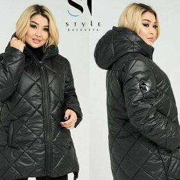 Куртки - Женская осенняя куртка большого размера р-ры 52-64, 0