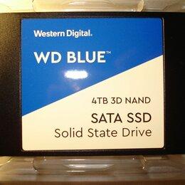 Жёсткие диски и SSD - SSD накопитель wd blue 4 Tb, 0