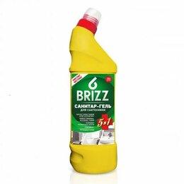 Бытовая химия - Luxy Средство д/сантехники  BRIZZ 750г Санитар-гель 5в1 (дезинфекц. с хлором), 0