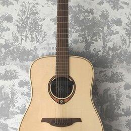 Акустические и классические гитары - Трансакустическая гитара LAG t88d, 0