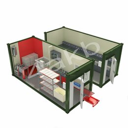 Аккумуляторы и комплектующие - Мобильная аккумуляторная мастерская  АМ-2К(6)-20(001), 0