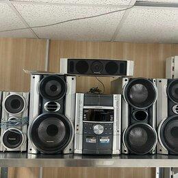 Музыкальные центры,  магнитофоны, магнитолы - Музыкальный центр Panasonic SA-VK825D б/у , 0