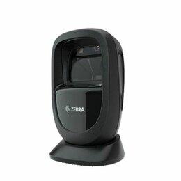 Принтеры чеков, этикеток, штрих-кодов - Сканер штрихкода Zebra DS9308 черный, комплект с USB кабелем, 0