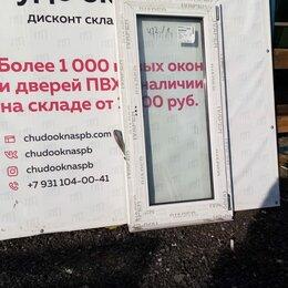 Окна - Окно, ПВХ Ivaper 62мм, 1330(В)х640(Ш) мм, 0