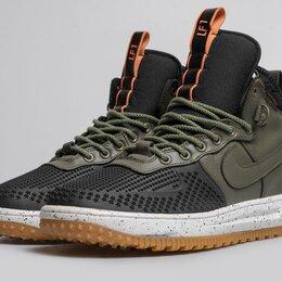 Кроссовки и кеды - Кроссовки Nike Lunar duckboot green-black, 0
