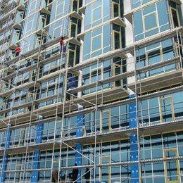 Вышки и строительные леса - Строительные леса многоэтажного дома, 0
