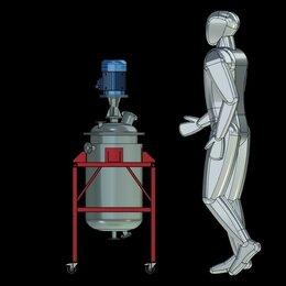 Лабораторное и испытательное оборудование - Диссольвер Лабораторный Вакуумный Нержавеющий, 0