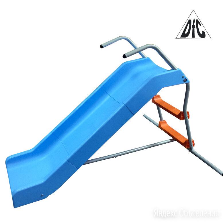 Горка прямая 2 в 1 DFC SlideWhizzer SW-02 по цене 8990₽ - Игровые домики и палатки, фото 0