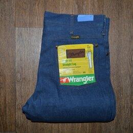Джинсы - Джинсы Wrangler W33 L34, Made in USA, 70-е, 0