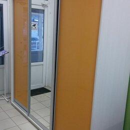 Шкафы, стенки, гарнитуры - Шкаф купе оранжевый с зеркалом, 0