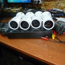 Готовые комплекты - Видео-наблюдение на 2-4 камеры, 0