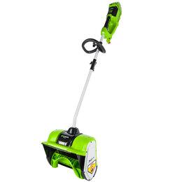 Снегоуборщики - Снегоуборщик аккумуляторный бесщеточный Greenworks 40V ( акк.2А*ч, з/у), 0