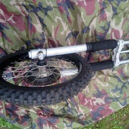 Запчасти  - Вилка и переднее колесо Yamaha TT 600 R, 0