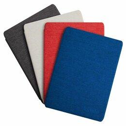 Запчасти и аксессуары для электронных книг - Оригинальная обложка для Amazon Kindle 10 тканевая синего цвета, 0