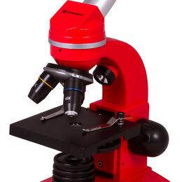 Микроскопы - Микроскоп Bresser Junior Biolux SEL 40–1600x, красный, 0