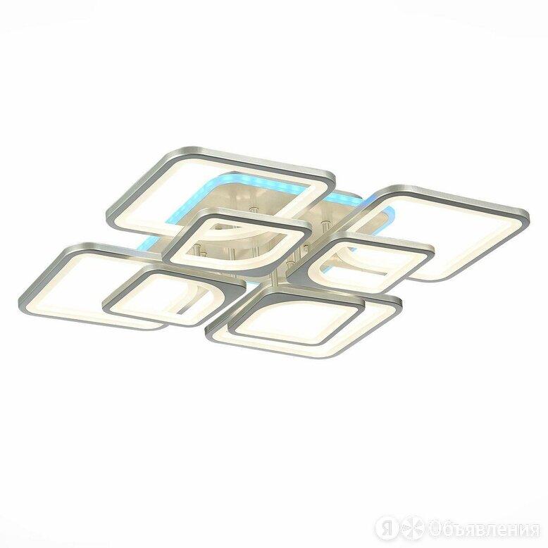 Потолочная светодиодная люстра Evoled Valenta SLE500492-08RGB по цене 12375₽ - Люстры и потолочные светильники, фото 0