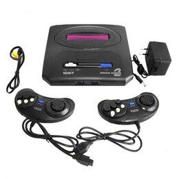 Ретро-консоли и электронные игры - Игровая приставка Sega Mega Drive 2 , 55 встроенных игр  Игровая консоль, 0