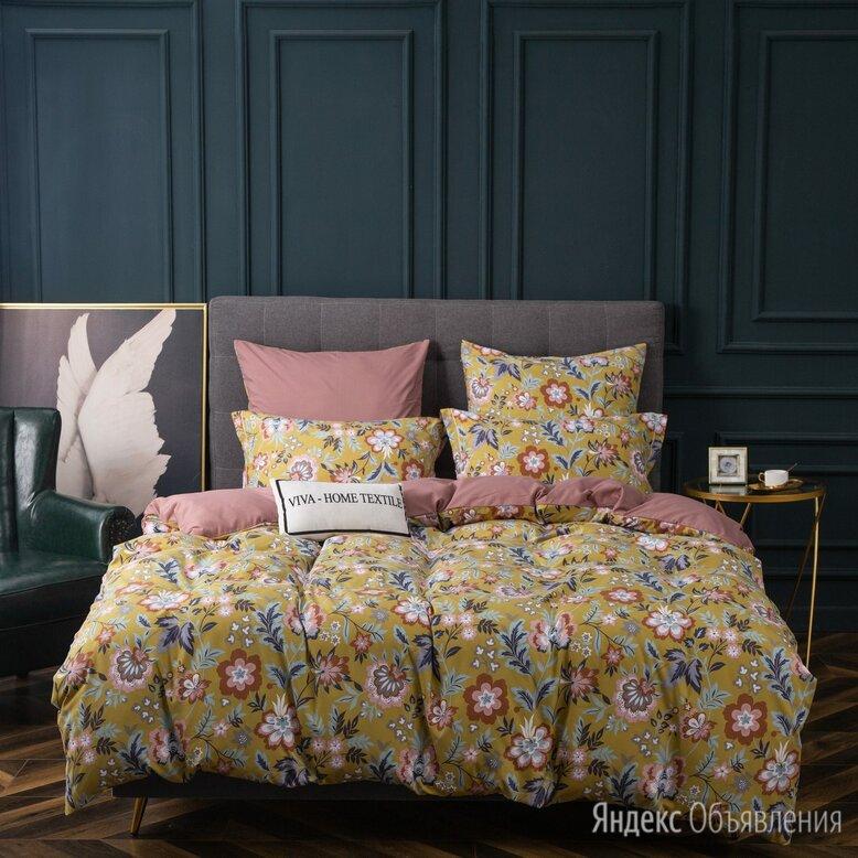 Комплект постельного белья Сатин Вышивка на резинке CNR112 по цене 2482₽ - Постельное белье, фото 0