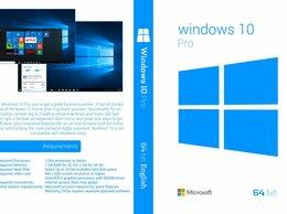 Программное обеспечение - Windows 10 Pro 32/64 bit  лицензия, ключ, OEM…, 0