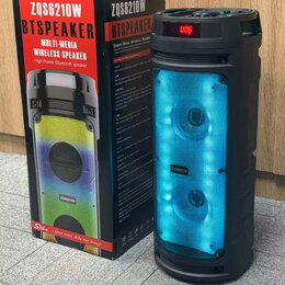 Портативная акустика - Портативная Bluetooth Колонка BT Speaker ZQS-6210W, 0