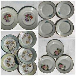 Посуда - Тарелки фарфор СССР разные, 0