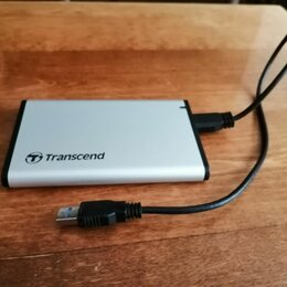 Внешние жесткие диски и SSD - 2.5 Внешний бокс Transcend, 0