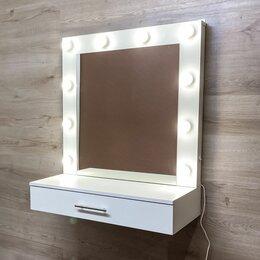 Столы и столики - Подвесной гримёрный столик и зеркало с подсветкой, 0