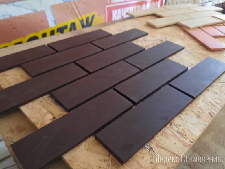 Клинкерная плитка на сетке по цене 700₽ - Клинкерная плитка, фото 0