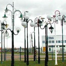 Уличное освещение - Парковые и уличные опоры освещения росса, 0