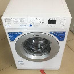 Стиральные машины - Стиральная машина Indesit 6 кг BWSA 61051S, 0