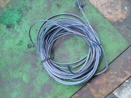 Грузоподъемное оборудование - трос стальной бу, 0