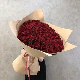 Цветы, букеты, композиции - 101 роза. Букет №157, 0