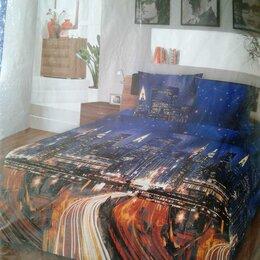 Постельное белье - Комплект постельного белья из бязи 2 сп с европростыней, 0
