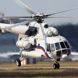 Вертолеты - Вертолет Ми-8АМТ, VIP-салон, 2008 г., 0