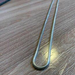 Цепи - Серебряная цепочка на шею (925 проба), 0