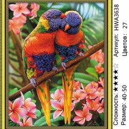 """Рукоделие, поделки и сопутствующие товары - Алмазная живопись """"Лори в джунглях"""" 40х50см, 0"""