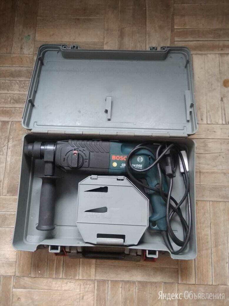 Перфоратор профессиональный Bosch GBH 2-24 DSE в кейсе по цене 7400₽ - Перфораторы, фото 0