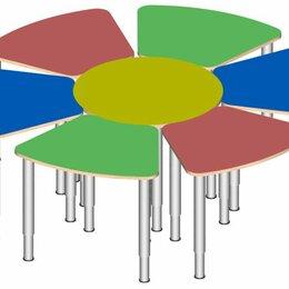 Столы - Стол Фиалка регулируемый по высоте, 0