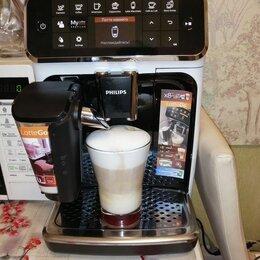 Кофеварки и кофемашины - Эспрессо-кофемашина philips ep4343/50 lattego, 0