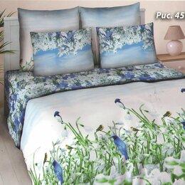 Постельное белье - Комплект постельного белья Нежность Сакуры Евро поплин, 0